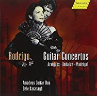 Guitar Concertos by The Amadeus Duo Play Rodrigo (2010-03-09)