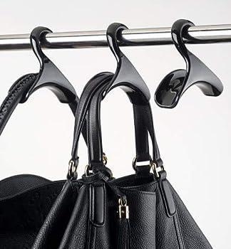 Bag-a-Vie Handbag Hanger Hook – Durable Closet Purse Hanger  3 Pack