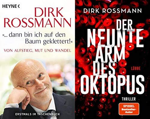 Dirk Rossmann: Biografie und 1 spannender Thriller im Set + 1 exklusives Postkartenset