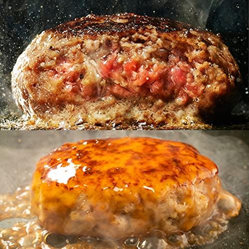 bonbori ( ぼんぼり ) 究極のひき肉で作る 牛100%ハンバーグ / 鶏100%ハンバーグ 食べ比べセット ( 約200g×8個 各4個づつ ) 無添加 / 冷凍ギフト/ 贈り物 / 敬老の日