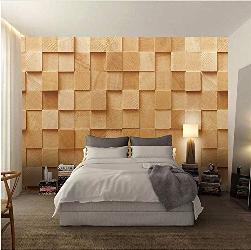 Achtergrondfoto 3D wallpaper woonkamer nieuwste moderne eenvoudige vierkante stereo 3D wandbehang woonkamer slaapkamer mode interieur muurschildering papel De Parede