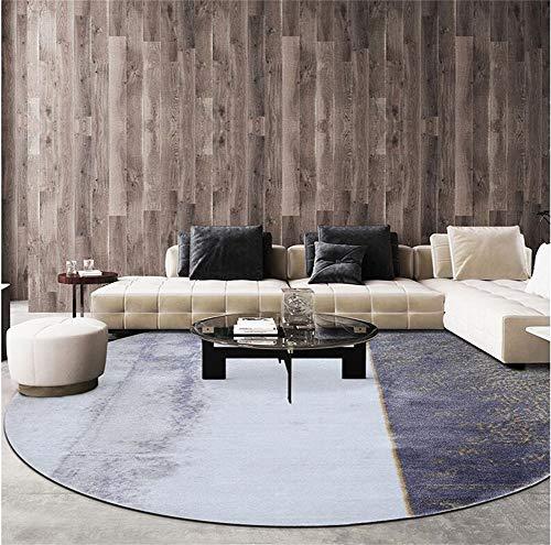 WJY Tapis Salon Bureau Étude Tour Moquette Chevet Ordinateur Rembourrage (Color : A02, Size : 130cm)