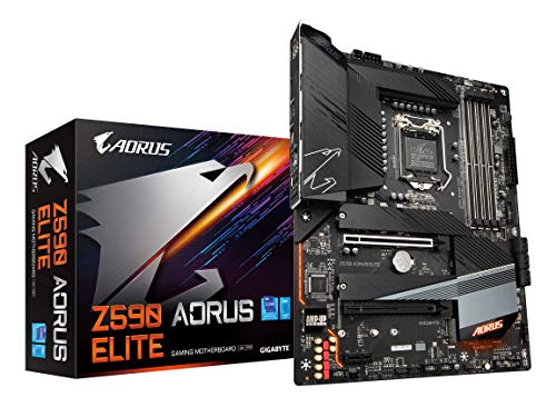 GIGABYTE Z590 AORUS ELITE (LGA 1200/ Intel Z590/ ATX/ Triple M.2/ PCIe...