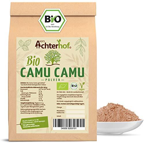 Camu Camu Pulver Bio | 500g | natürliches Vitamin C | 100% reines Fruchtpulver aus der Beere