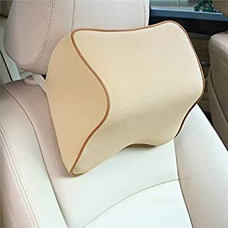 OBLIQ Memory Foam Car Headrest Cushion, Neck Rest Seat Pillow for Pain Relief, Ergonomic Cervical Support for All Cars (Be...