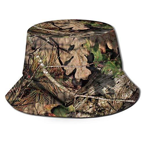 Out GuoAiYunShop - Sombrero de pescador de camuflaje para hombre, protección UV, para pesca, camping, playa