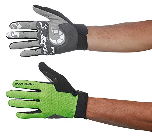 Northwave MTB Air Man guantes de ciclismo de largo verde 2015, color , tamaño S (7)