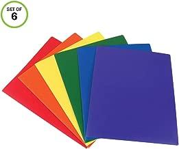 2 pocket folder poly without clasp