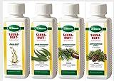 Finnsa Saunaaufguss Freier Atem: Eukalyptus, Fichtennadel, Latschenkiefer und Sauna Gold (4x250 ml)