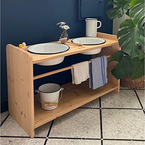 Alfred & Cie - Mobilier Montessori Dos jarrones de baño