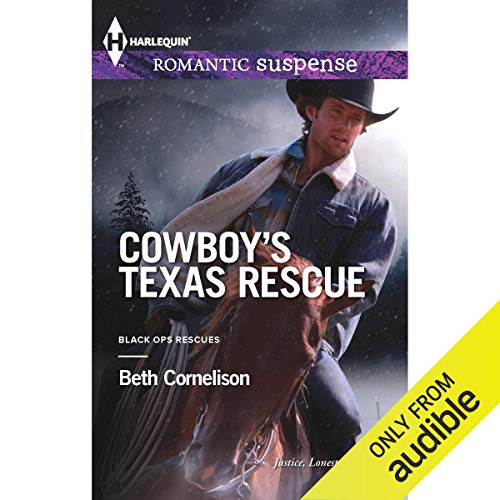 Cowboy's Texas Rescue audiobook cover art