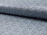 Tweed-Beschichtung, Blau, Meterware