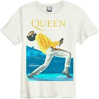 【予約商品】 QUEEN クイーン (ボヘミアン・ラプソディ公開記念) - FREDDIE MERCURY TRIANGLE/Amplified( ブランド ) / Tシャツ/メンズ 【公式/オフィシャル】
