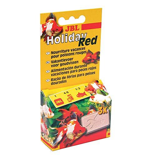 JBL Holiday Red - Alimentación de vacaciones para peces rojos