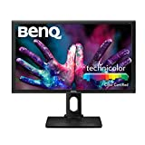 BenQ PD2700Q - Monitor para diseñadores (LED IPS, 2560 x 1440, 27' 2K QHD, 100% Rec. 709 y sRGB, CAD/CAM, animación, Darkroom Mode, Low Blue Light, Flicker-free), color negro