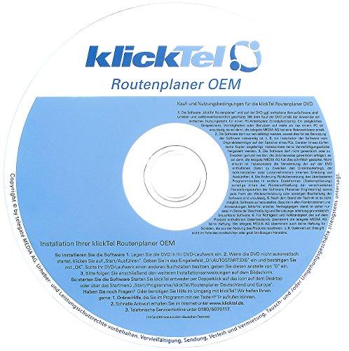 KlickTel Routenplaner 2011/2012 Deutschland und Europa