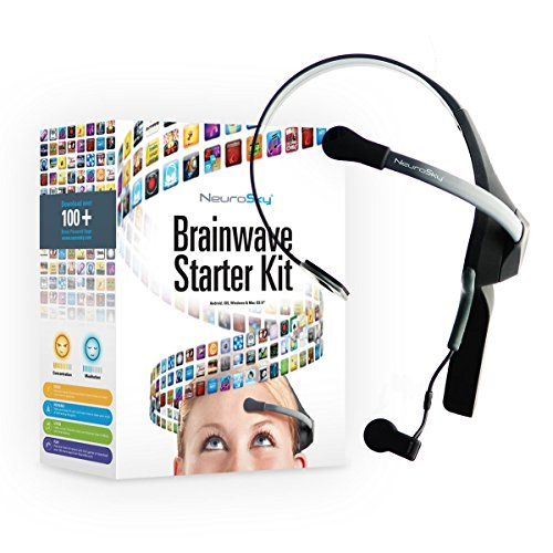 NeuroSky EEG und Neurofeedback Headset MindWave Mobile 2: BrainWave Starter Kit