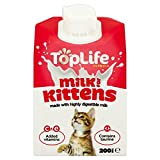 Toplife Lactose Reduced Cows Milk for Kittens 200ml (PACK OF 6)