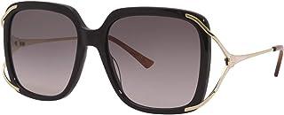 Gucci Lunettes de Soleil GG0647S BLACK/GREY SHADED 56/18/130 femme