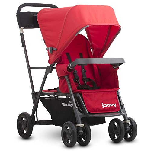 Find Bargain Joovy Caboose Ultralight Graphite Stroller, Red