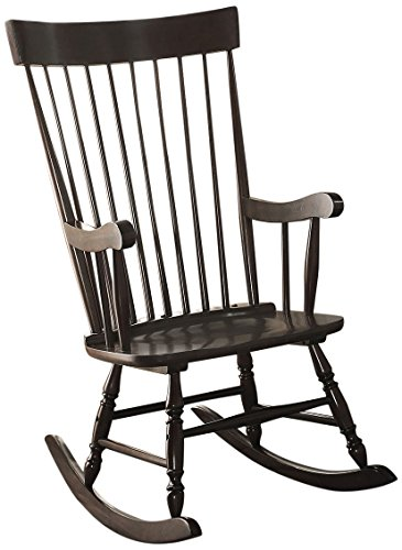 ACME Furniture Arlo 59297 Rocking Chair Black One Size