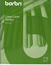 Barbri New York Upper Level Review (Constitutional Law, Corporations, Criminal Procedure, Evidence, New York Practice, New York Trusts, New York Wills, Fall 2010-Spring 2011)