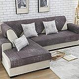 Protectores para Sofás ,Funda de sofá, juego de funda de sarga para sofá, funda de sofá elástica para sala de estar, esquina de mascotas, funda de sofá chaise longue en forma de L-Color2_110x160cm