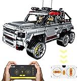 XIAN Kit de bloques de construcción para vehículos todoterreno con aplicación / mando a distancia de 2,4 GHz, 1:10, 3082 piezas de juguete de