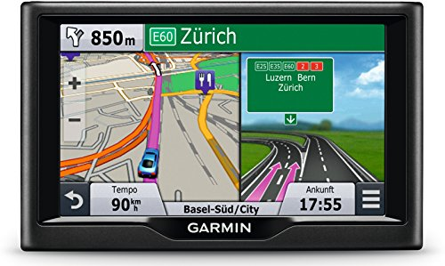 Garmin nüvi 58LMT Navigationsgerät - Europa Karte, lebenslange Kartenupdates, Premium Verkehrsfunklizenz, 5 Zoll (12,7cm) Touchscreen (Zertifiziert und Generalüberholt)