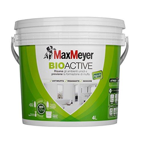 MaxMeyer Pittura per interni antimuffa Bioactive BIANCO 4 L