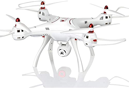 E-KIA Drone avec Camera HD Telecomhommede,Grand Drone, Retour GPS à Un Bouton, MéMoire De Grande Capacité pour voiturete Micro-SD, Vol Porteur 50g