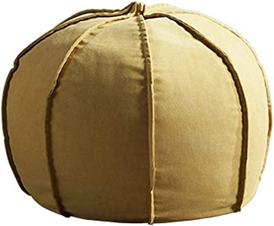 Amazon Com Rotot Unstuffed Pouf Ottoman Bean Bag Chair