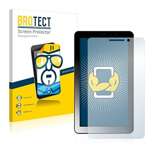BROTECT Schutzfolie kompatibel mit Kiano Elegance 7 3G (2 Stück) klare Bildschirmschutz-Folie