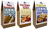 Rabbit Creek Beer Bread Mix Variety Pack - Cheddar Bacon, Cheesy Roasted Garlic & Crispy Parmesan...