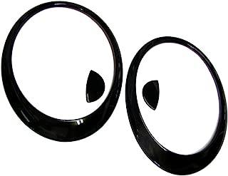 2007~2013 MINI COOPER R56 S Glossy Black Head Light Lamp Trim Cover (Painted)