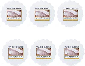 Yankee Candle Lot of 6 Angel's Wings Tarts Wax Melts