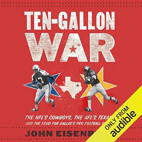 Ten-Gallon War audiobook cover art