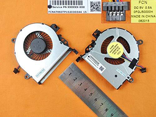 Kompatibel für HP ProBook 470 G3, 470G3 Lüfter Kühler Fan Cooler