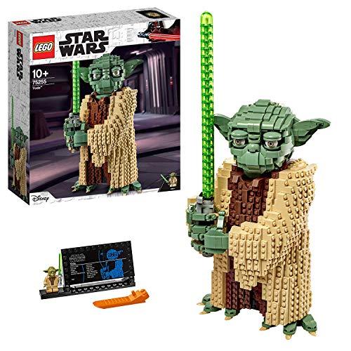 LEGO Star Wars TM - Yoda, Set de construcción del Personaje Jedi de la Guerra de las Galaxias, Inspirado en el Ataque de los Clones (75255)