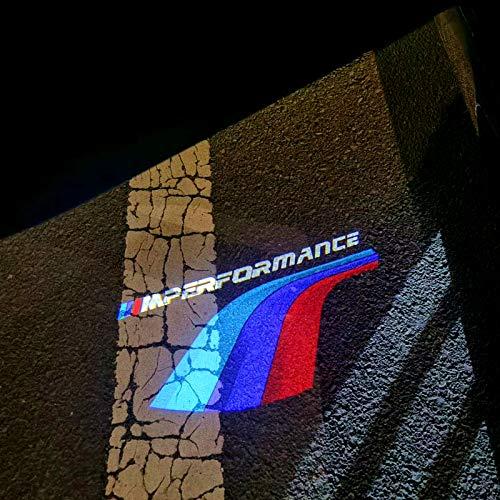 Door Light Logo for BMW 3 5 7 X5 Series, Car Projector Lights( E60 E90 F02 F10 F30)