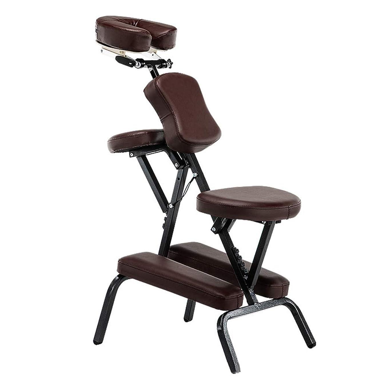 言い訳遮る独創的入れ墨の椅子の健康の椅子の折るマッサージの椅子の携帯用マッサージの椅子のこする椅子入れ墨の椅子の折る美のベッドの鉱泉のマッサージのコンパクトの椅子
