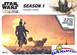 2020 Topps Star Wars The MANDALORIAN Season 1 EXCLUSIVE Factory Sealed Retail Box with VERY SPECIAL MEDALLION RELIC! Includes 5 Parallels & 5 Insert Cards! Look for Auto & Sketch Cards! WOWZZER!