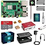 LABISTS Raspberry Pi 4 Model B 4 GB Ultimatives Kit mit 32GB Class10 Micro SD-Karte, 5,1V 3,0A USB-C...