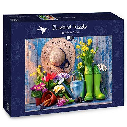 Puzzle Ready for the Garden 1000 piezas Bluebird