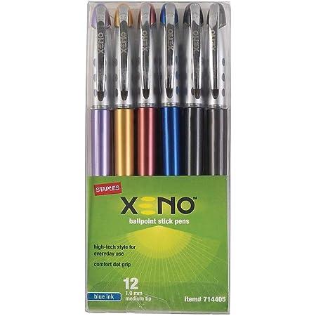 pack 3 pcs. One XT-209 Ballpoint Pen 0.5 mm Blue ink