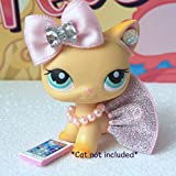 Littlest Pet Shop LPS Clothes Accessories Skirt Bow Outfit Lot CAT NOT Included