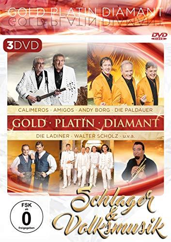Schlager & Volksmusik - Gold Platin Diamant [3 DVDs]