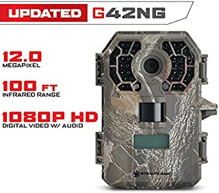featured product Stealth Cam G42 No-Glo Trail Game Camera STC-G42NG (Gray)