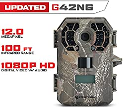 Stealth Cam G42NG No-Glow Trail Game Camera, Fast Trigger Speed with Burst Mode, Shoots HD Video
