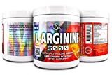 L- Arginine 5000mg – Pure L-Arginine Powder, Supplement for Performance, Vascularity, Endurance, Stamina, Muscle Growth - Supports Nitric Oxide, Gluten Free & Non-GMO | by USK